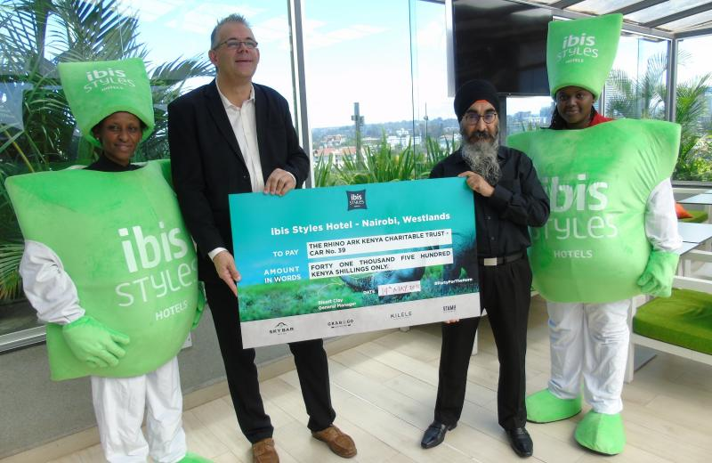 ibis Styles Nairobi Westlands raises funds to support environmental conservation