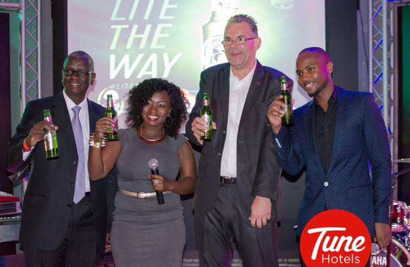The Tusker Lite Sky Bar launches at the Tune Hotel Nairobi, Westlands