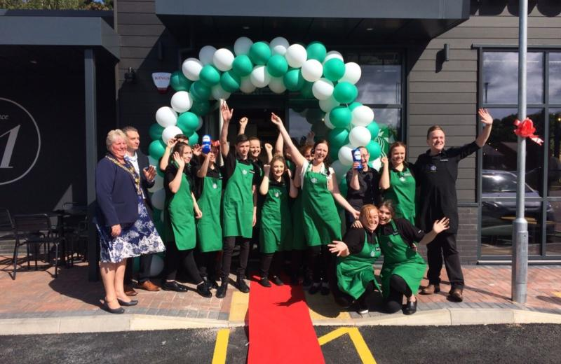 Queensway opens its first Starbucks Drive Thru in Kidderminster